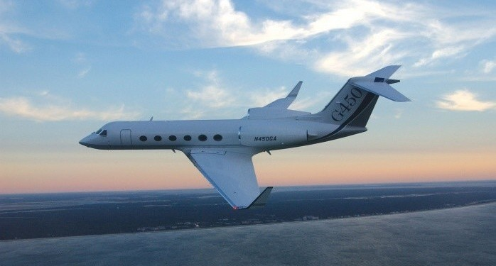 Gulfstream G450 corporate aircraft