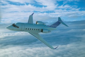 Challenger 605 corporate aircraft