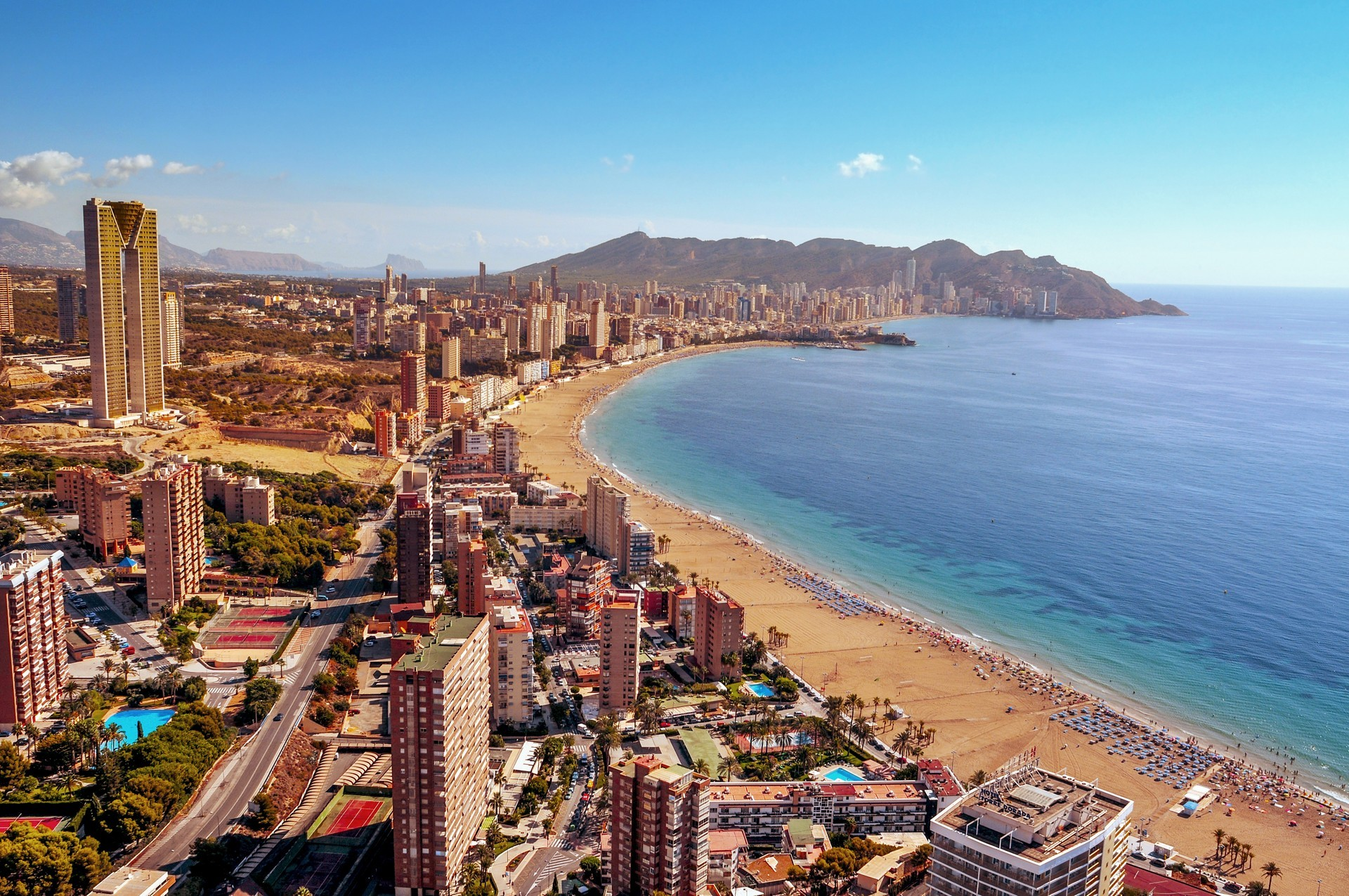 Benidorm Private Jet and Air Charter Flights