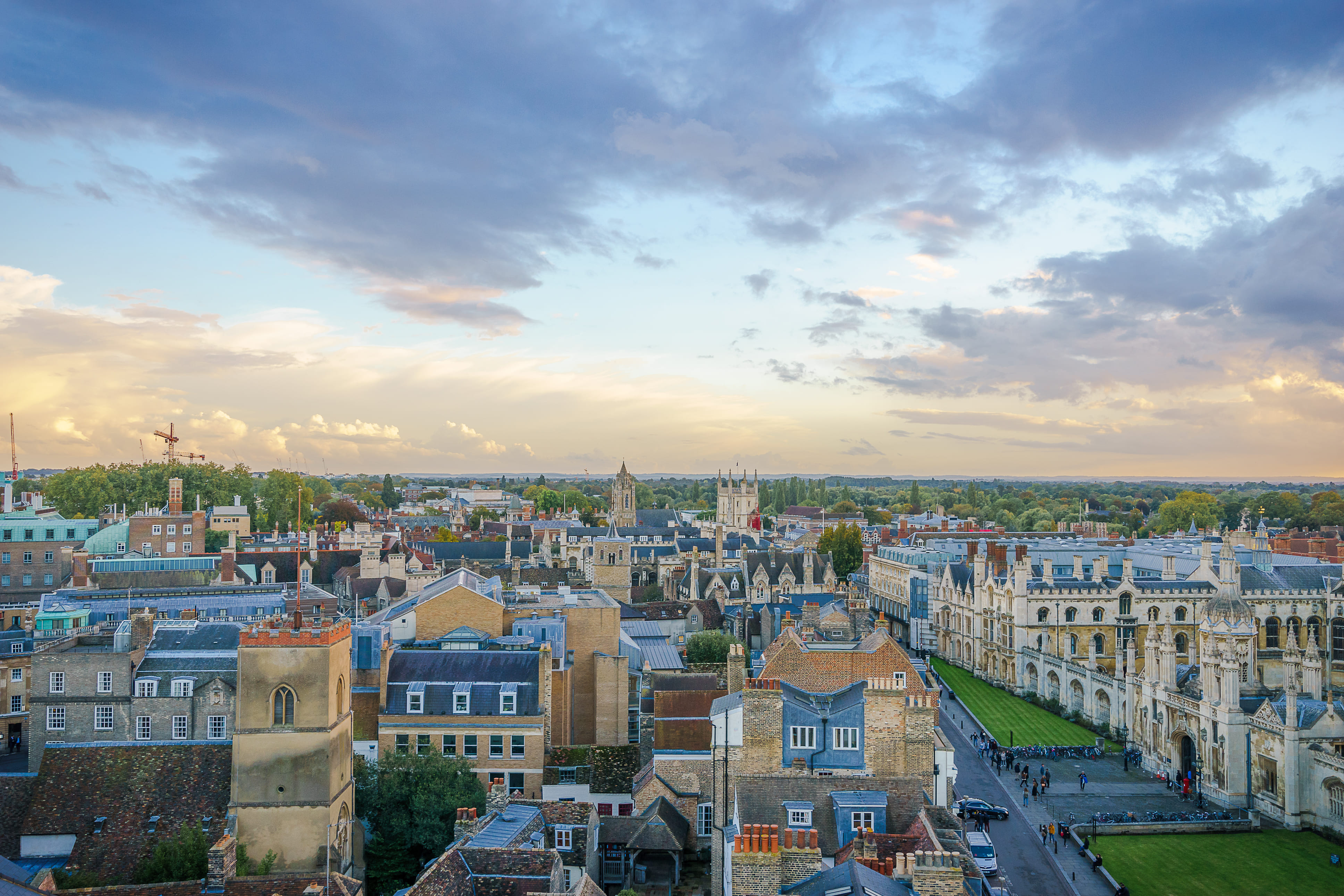Cambridge, UK Private Jet and Air Charter Flights