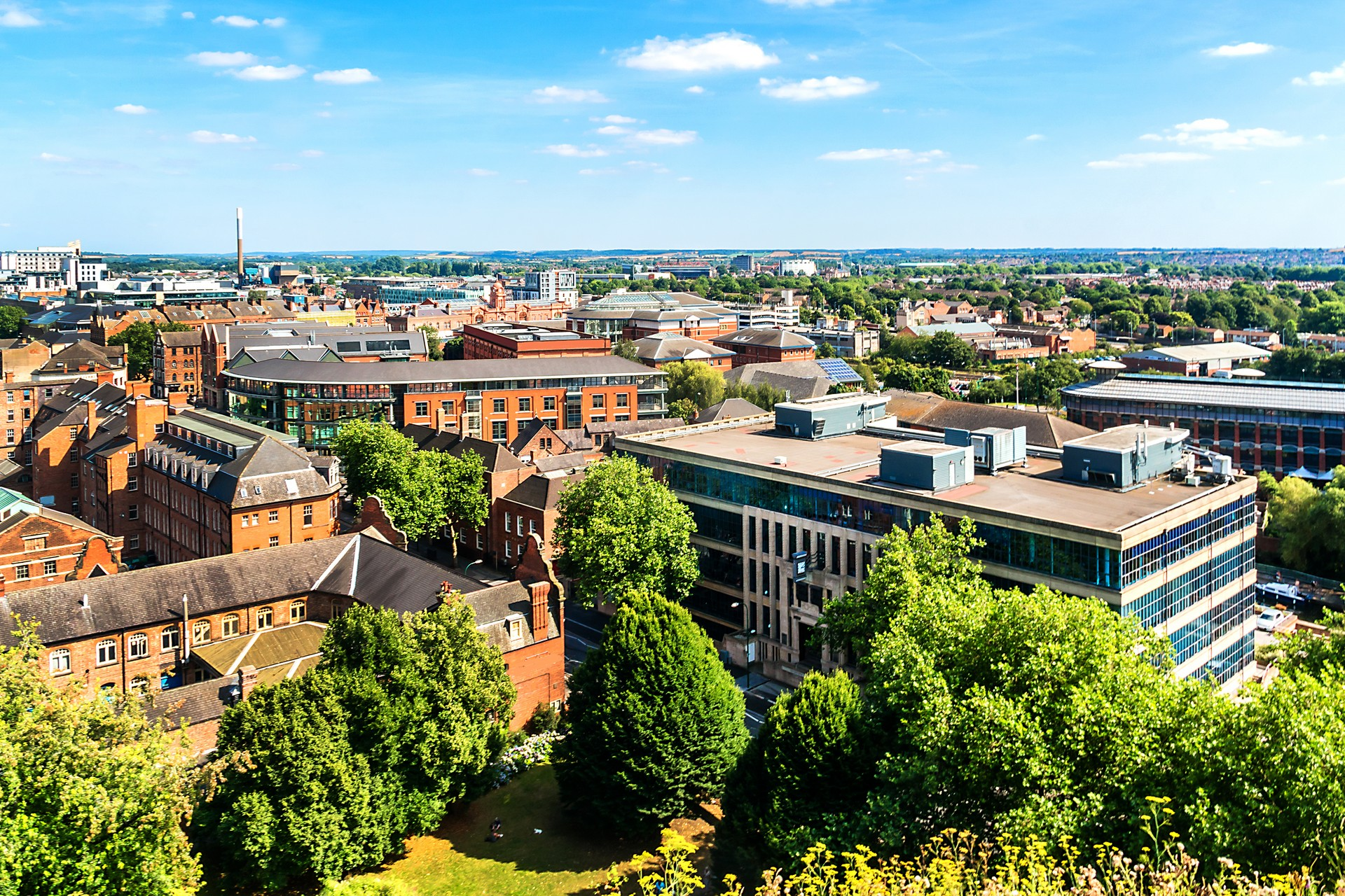 Nottingham Private Jet and Air Charter Flights
