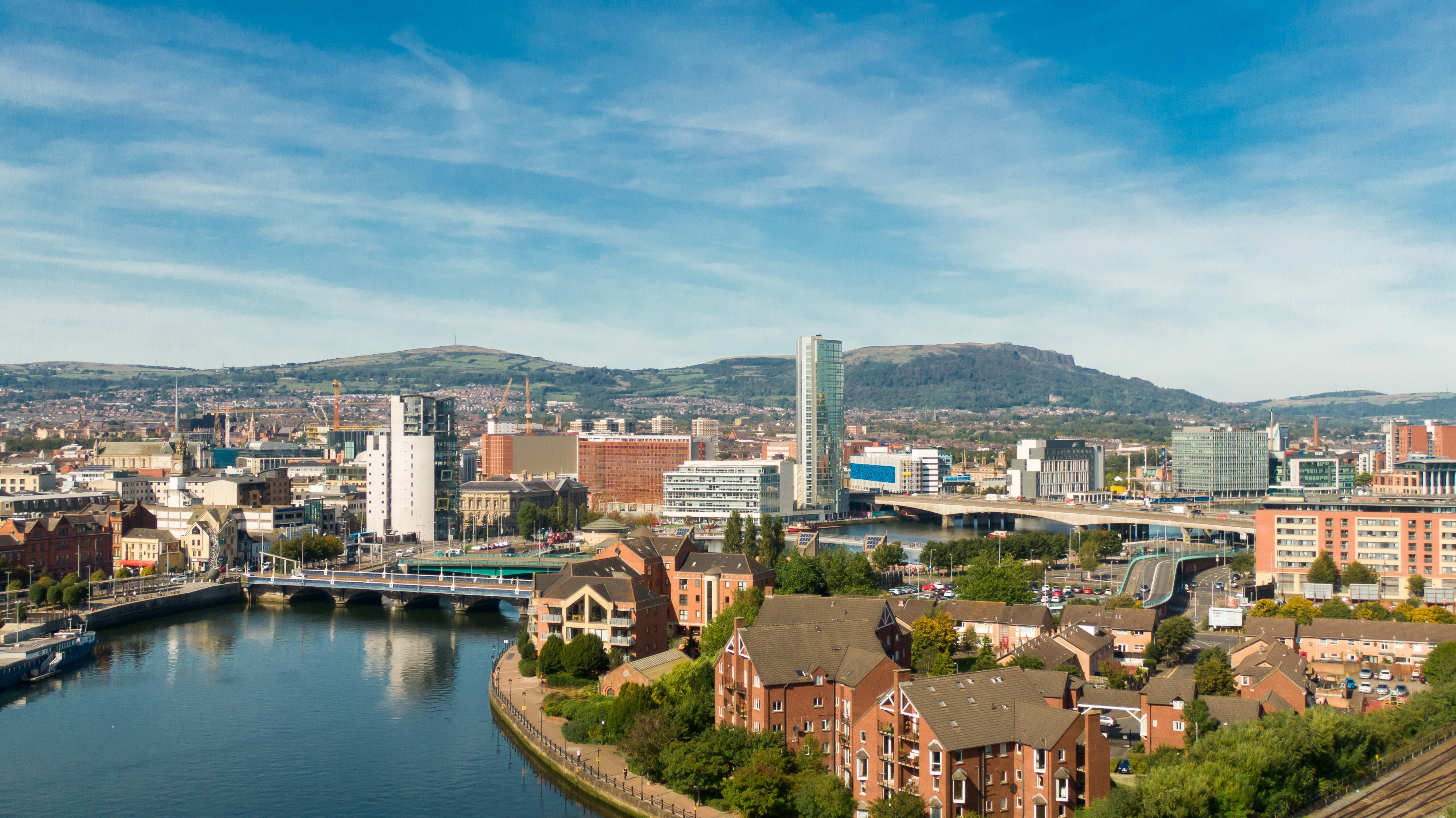 Belfast Private Jet and Air Charter Flights