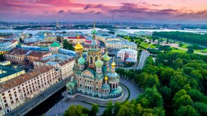 Saint Petersburg Private Jet and Air Charter Flights