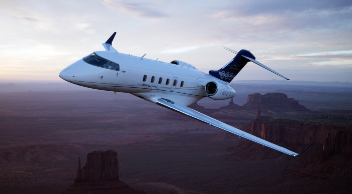 Challenger 300 corporate aircraft