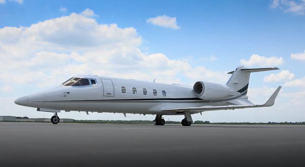 lear 60 mid size jet