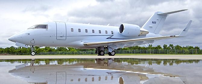 Challenger 605 Exterior