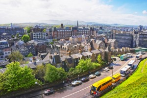 Edinburgh, Scotland Private Jet Charter