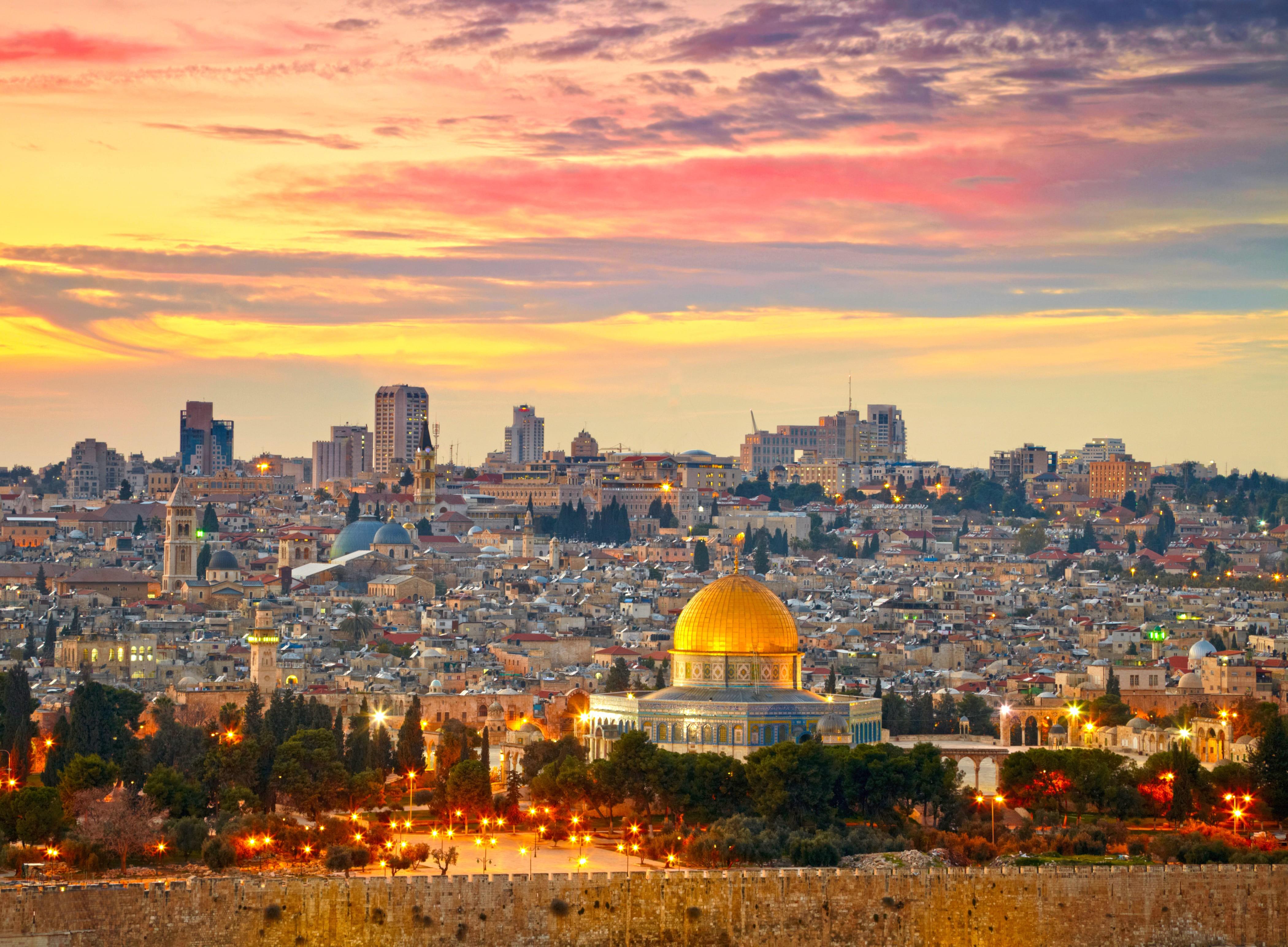 Jerusalem Private Jet and Air Charter Flights