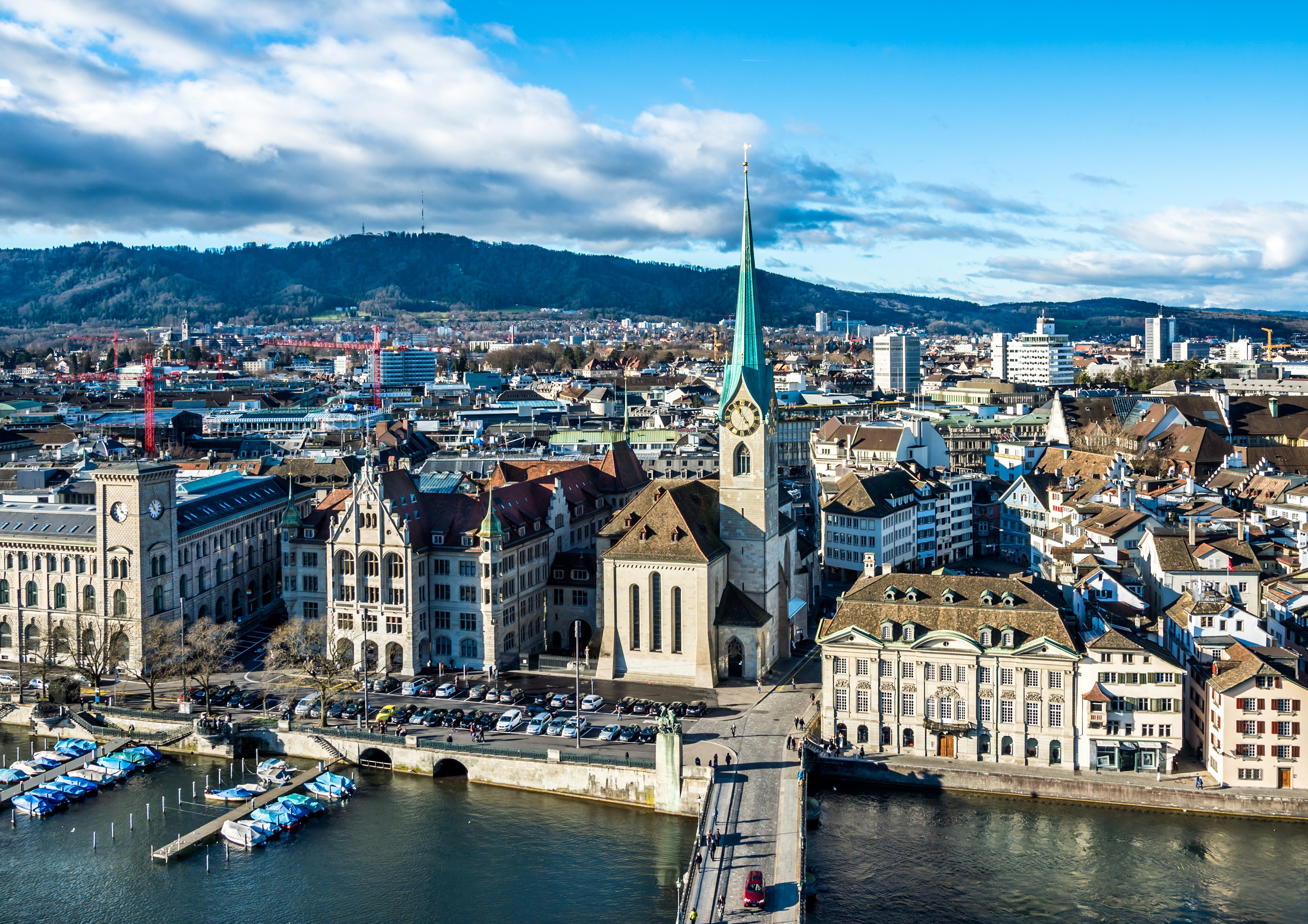 Zurich Private Jet and Air Charter Flights