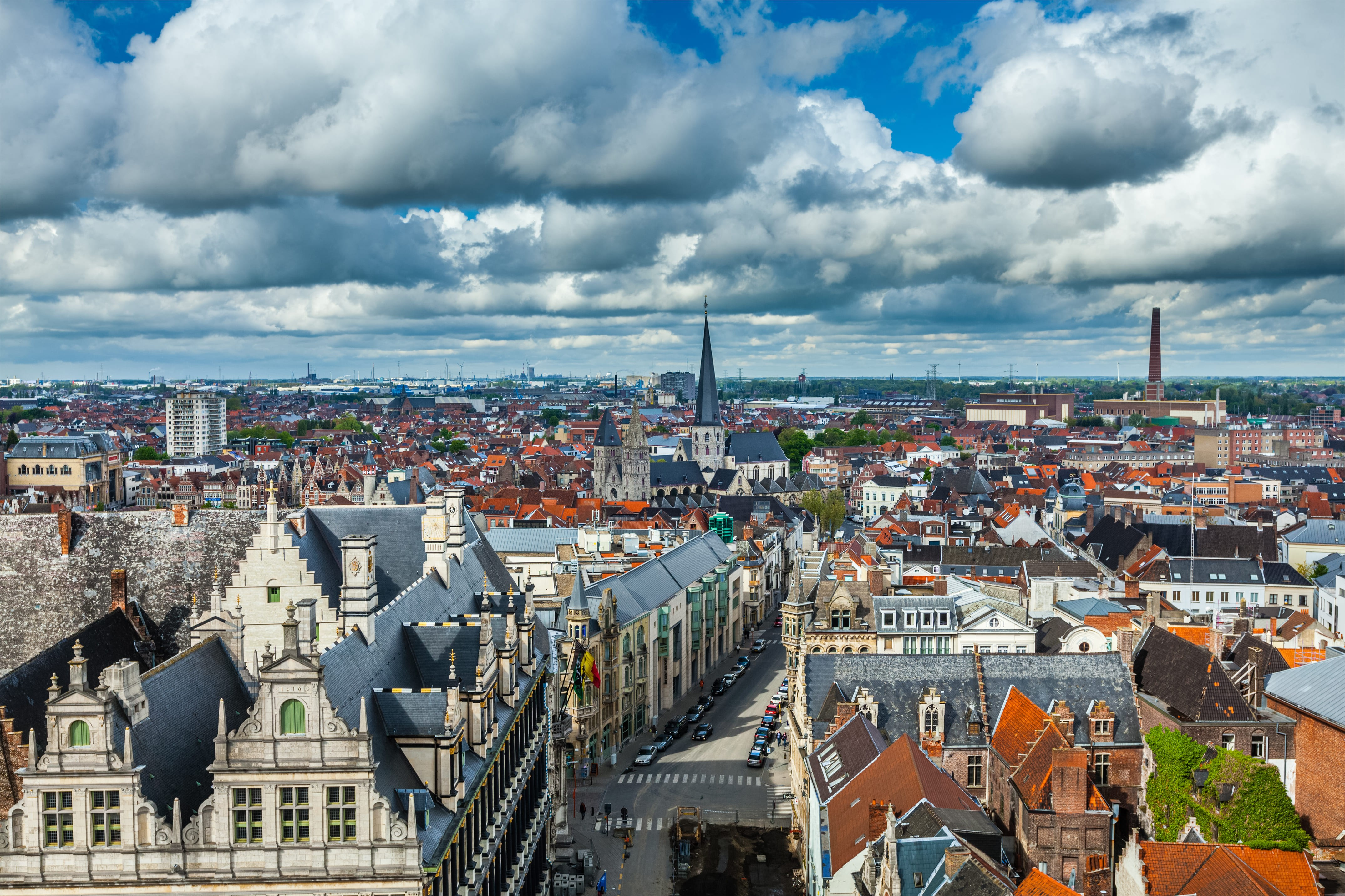 Ghent Private Jet and Air Charter Flights