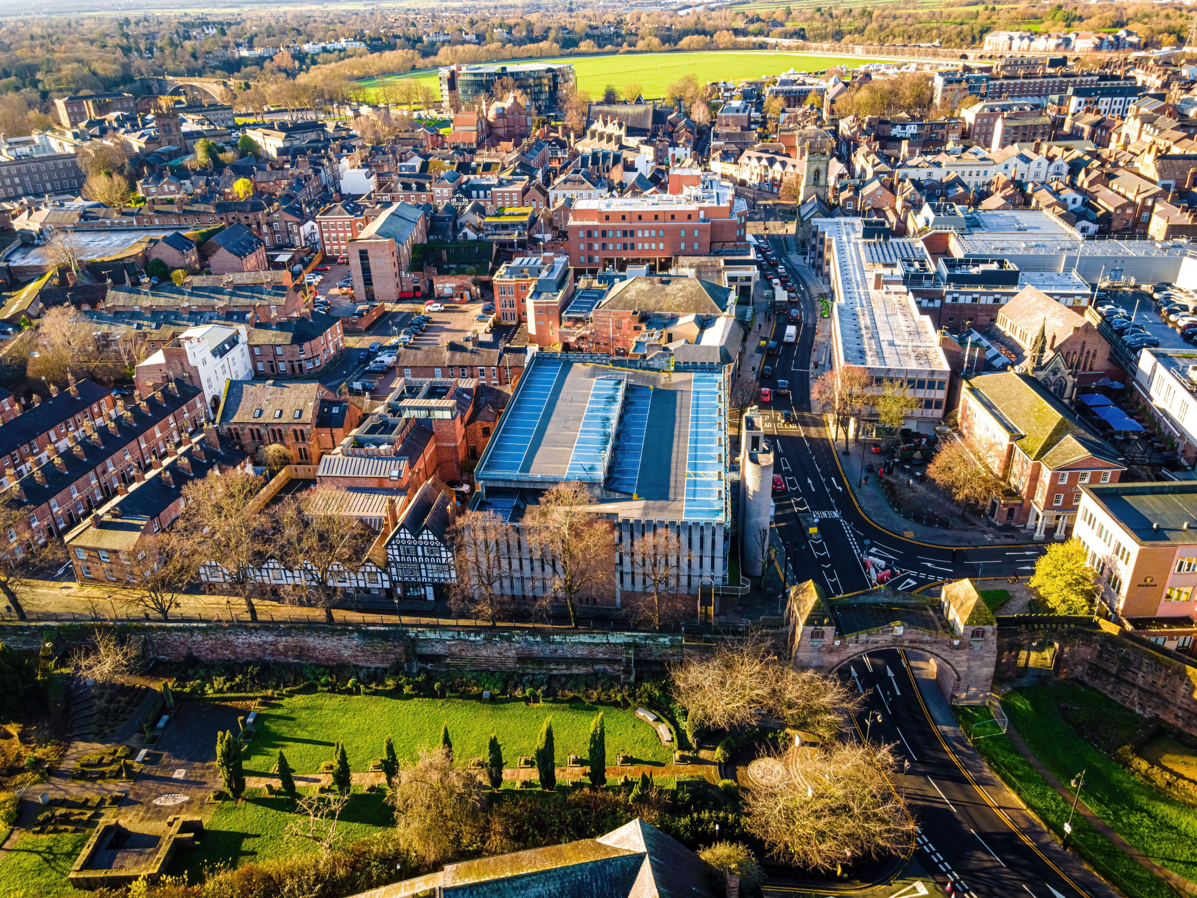 Chester (UK) Private Jet and Air Charter Flights