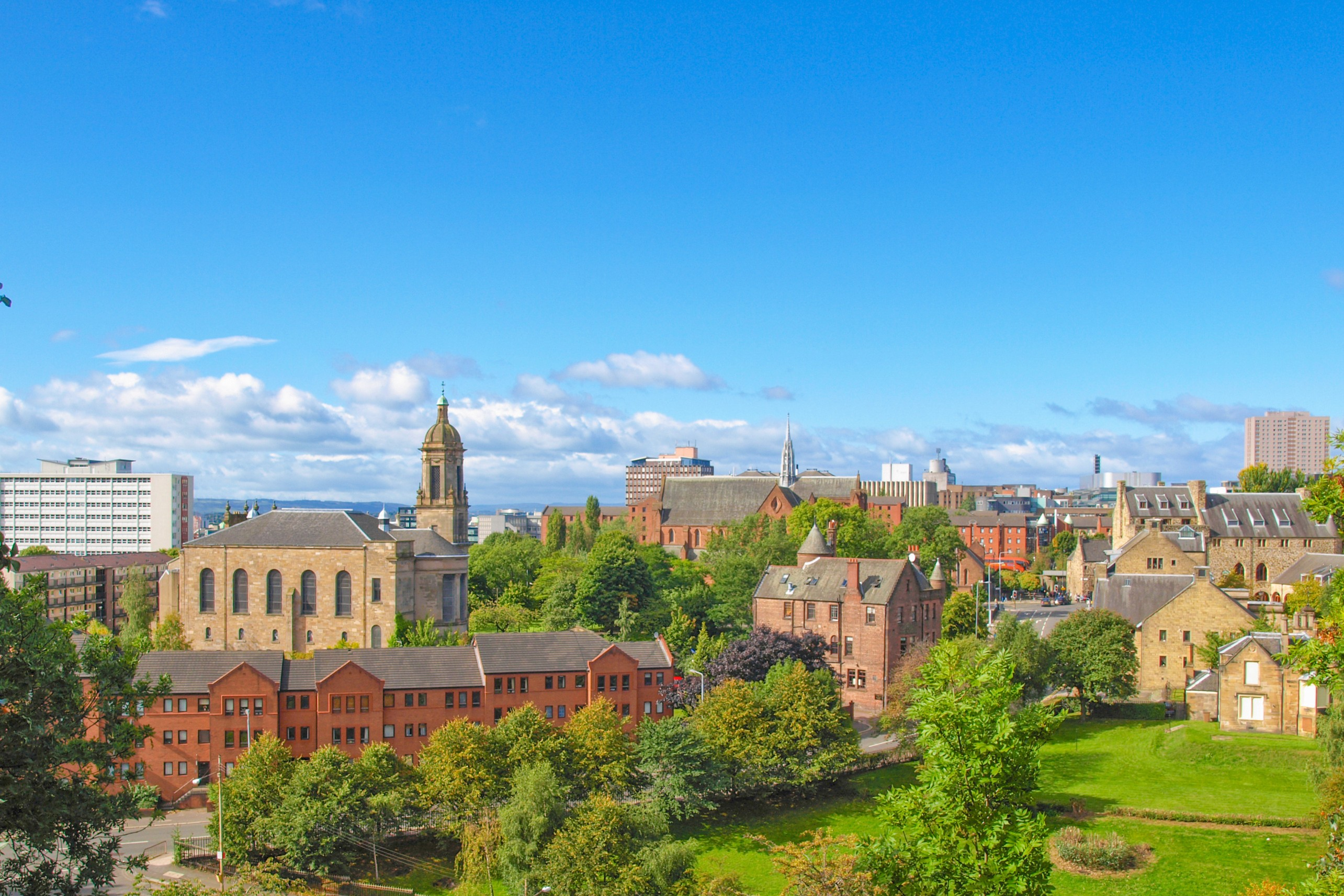Glasgow Private Jet and Air Charter Flights