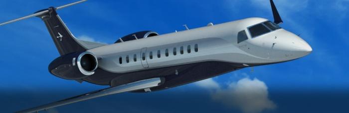 Embraer Legacy 650 exterior jet charter