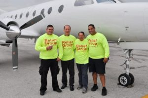 Relief and Evacuation flights into and out of Dominican Republic