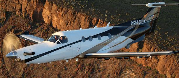 Pilatus PC-12NG exterior