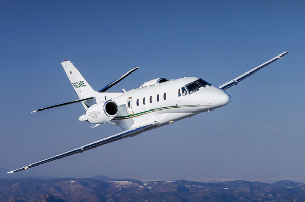 Cessna Citation XLS+ business jet exterior