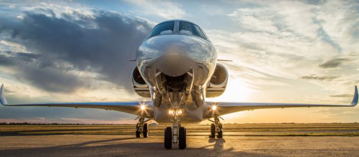 Citation X+ jet charter exterior