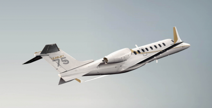 Learjet 75 exterior