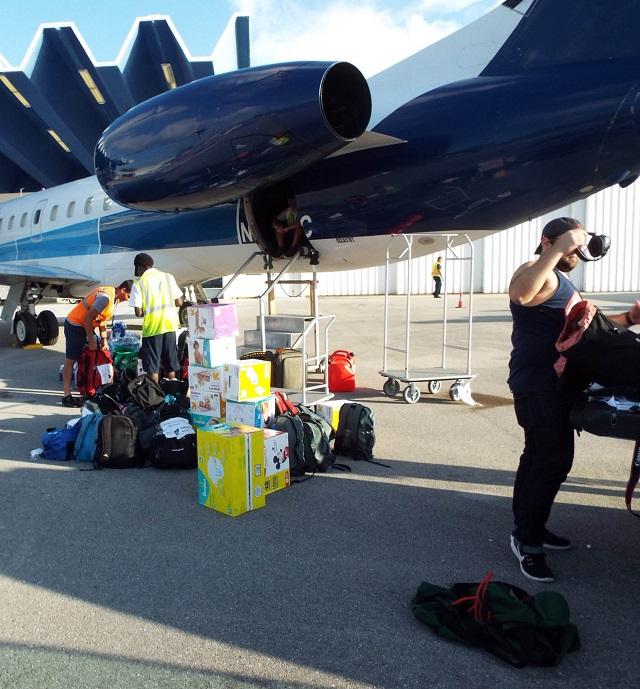 Student Prepares Third Relief Flight to Puerto Rico after Raising