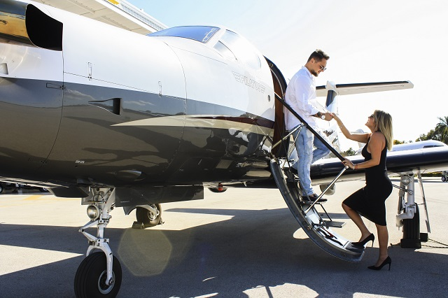 Romantic Private Jet Charter Getaways for Valentine's Day