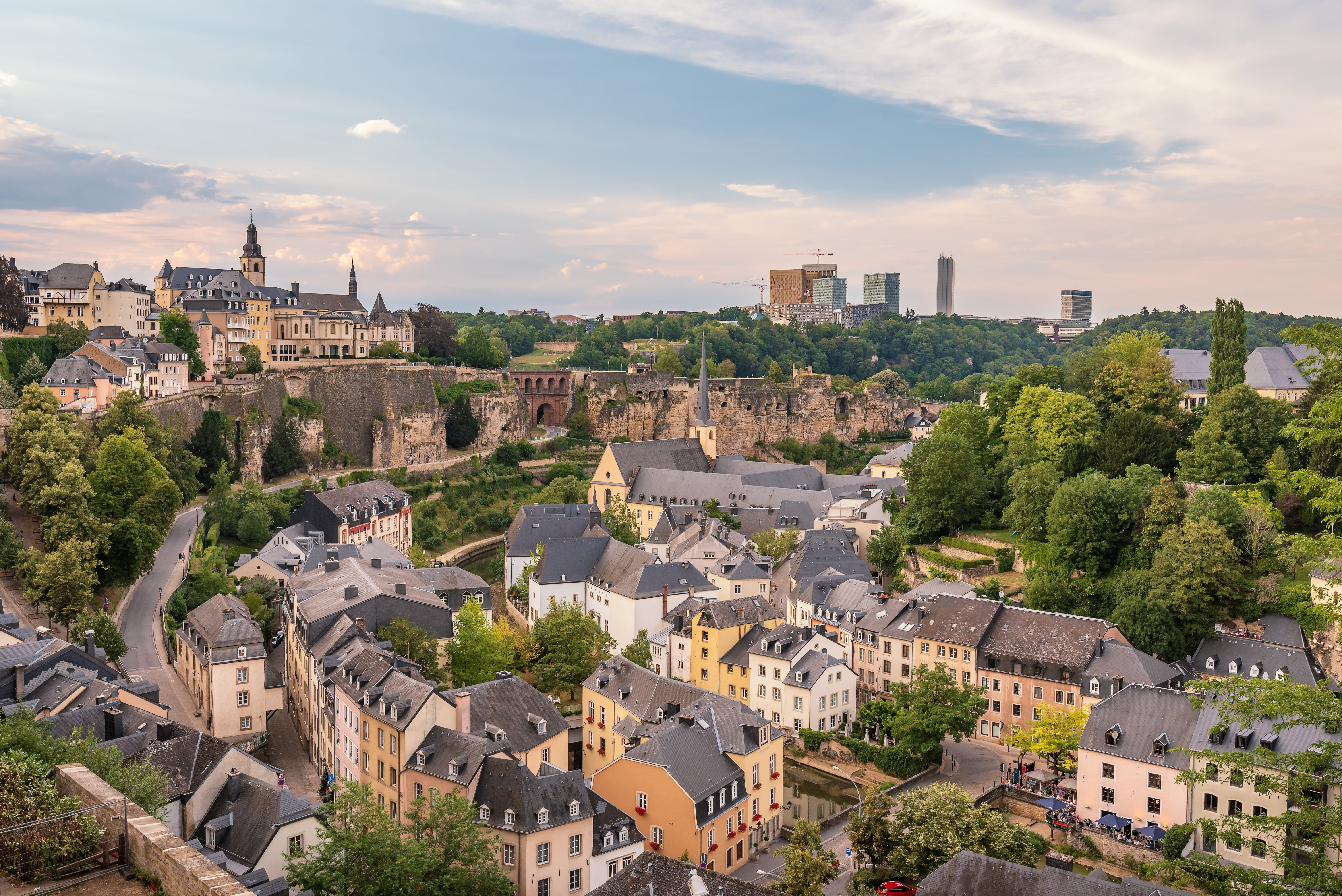 Luxembourg Private Jet and Air Charter Flights