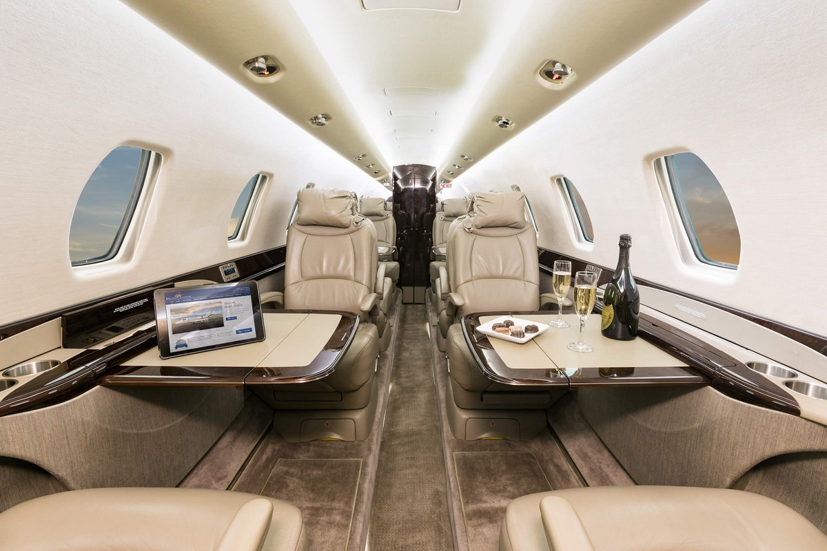 Cessna Citation Sovereign+ inside