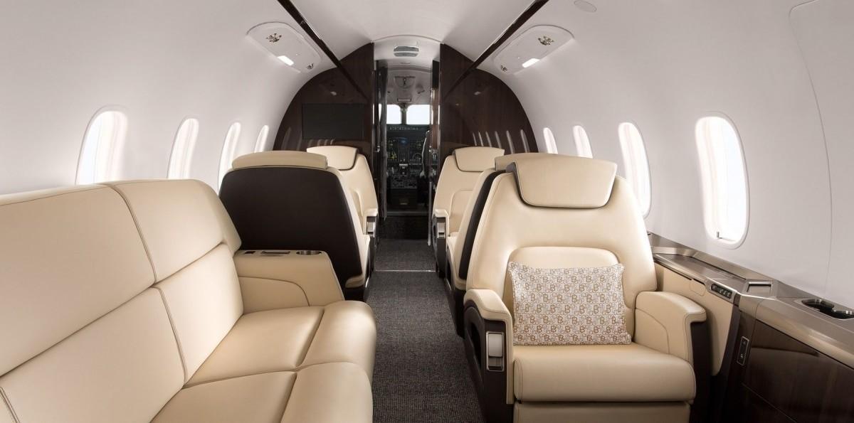 Challenger 350 Interior