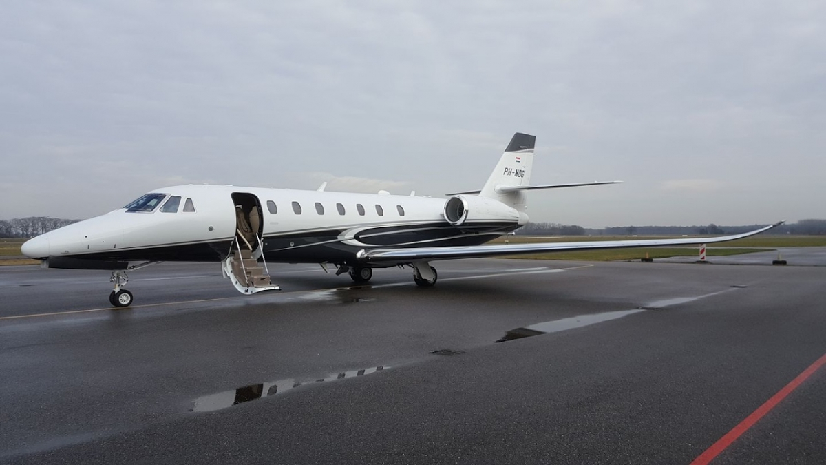 Private Jet Charter a Cessna Citation Sovereign+