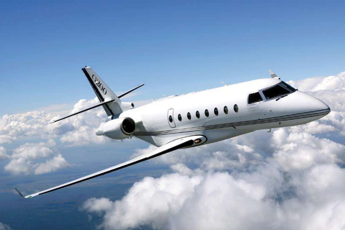 Private Jet Charter a Gulfstream G 200