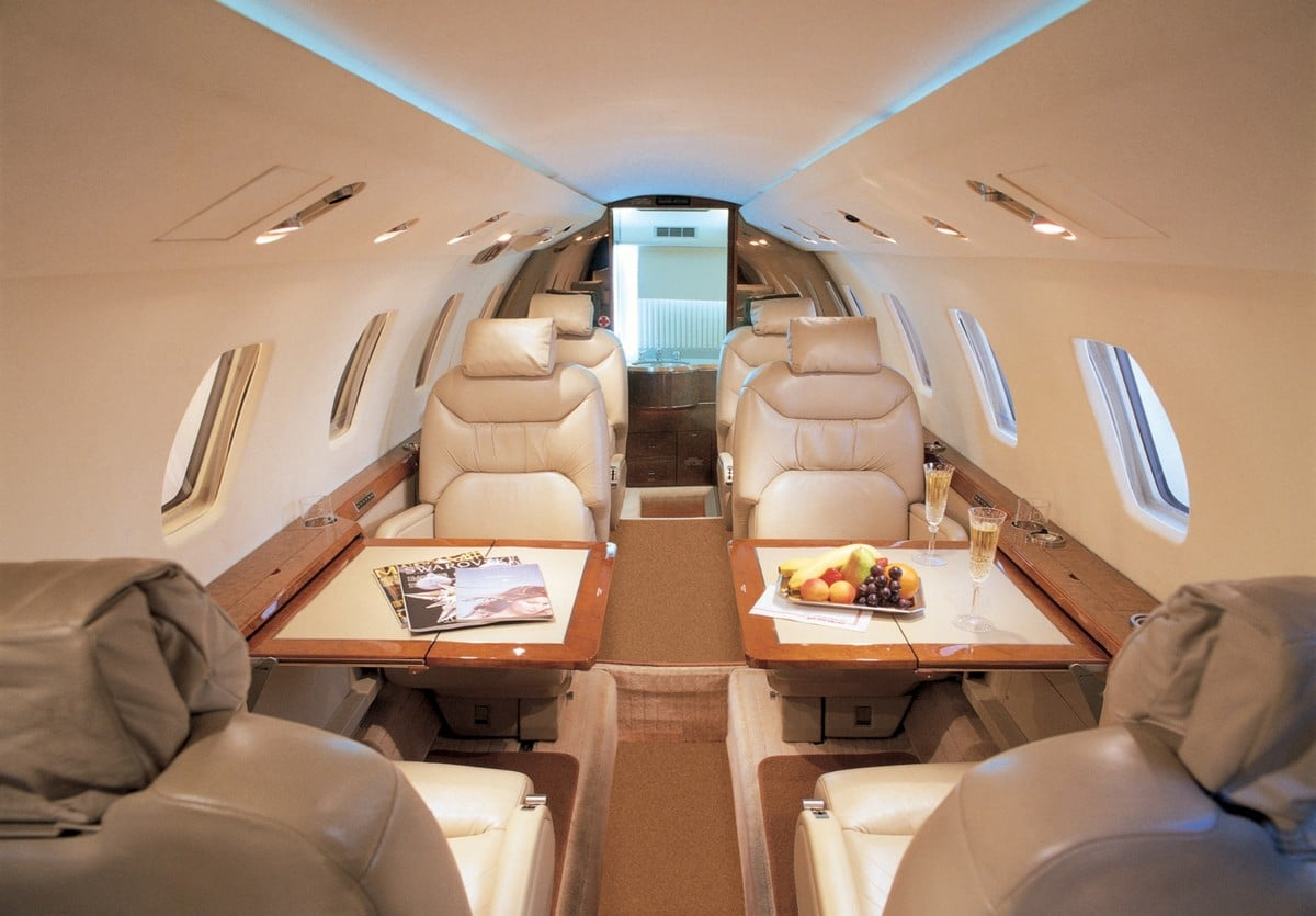 cessna citation vii interior