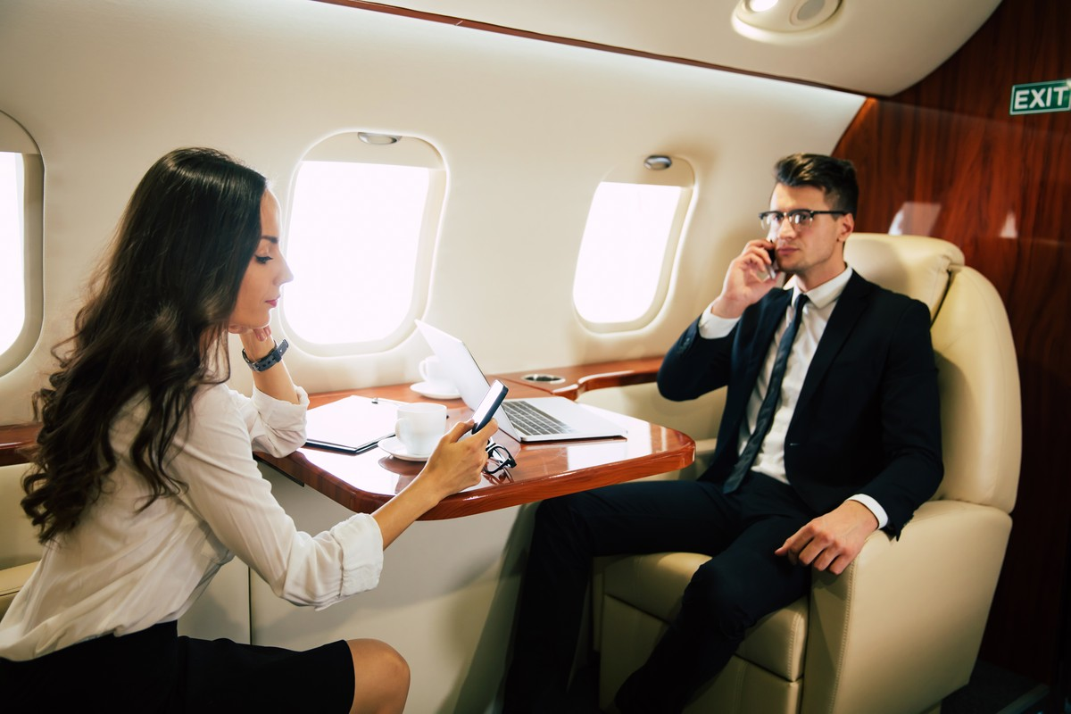 Types of Companies That Benefit from the Use of Private Jets