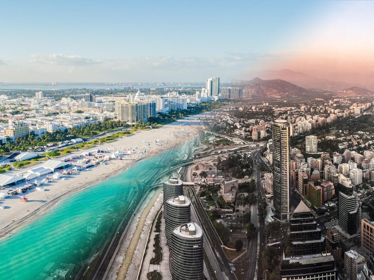Private Jet Charter Miami to Santiago