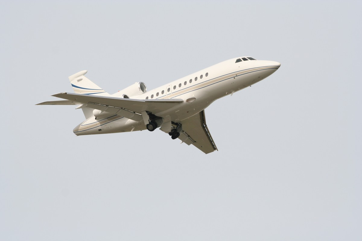 Private Jet Falcon 50EX