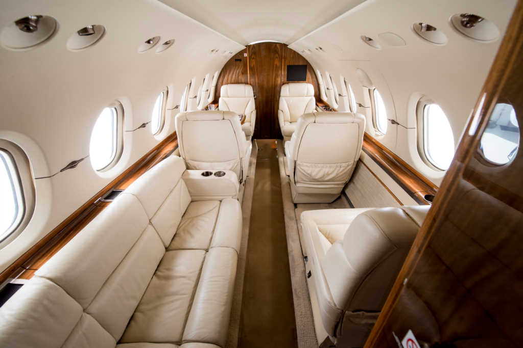 hawker 850xp interior 1