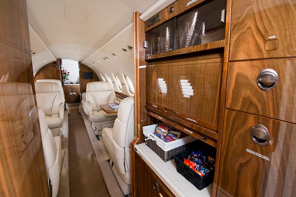 hawker 850xp interior 2