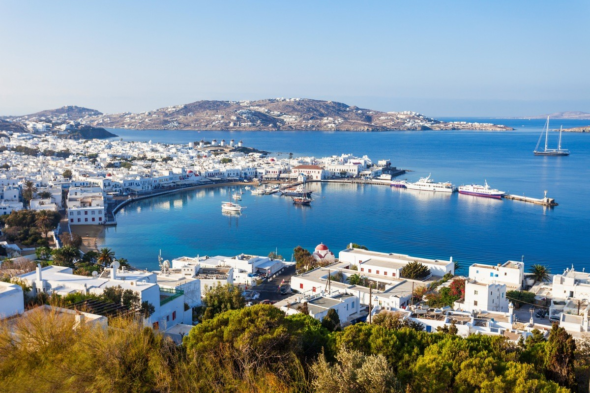 Mykonos Private Jet and Air Charter Flights