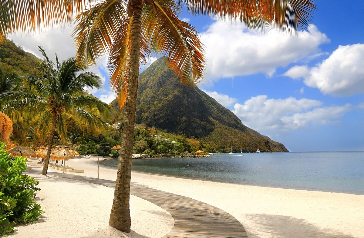 Saint Lucia Private Jet and Air Charter Flights