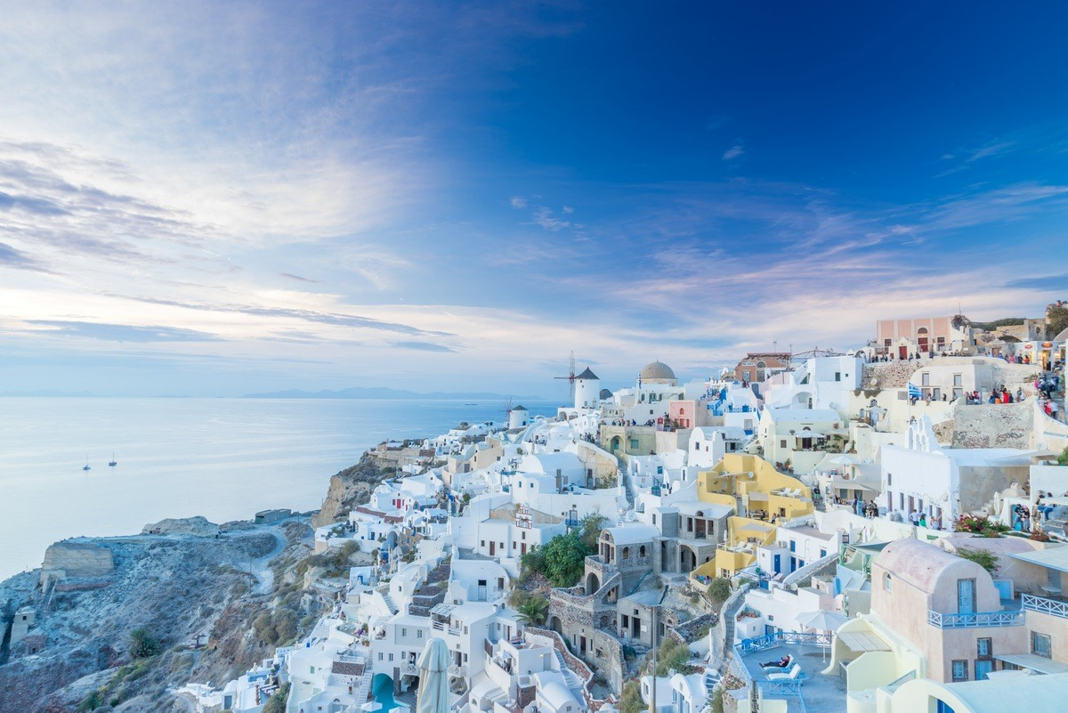 Santorini Private Jet and Air Charter Flights