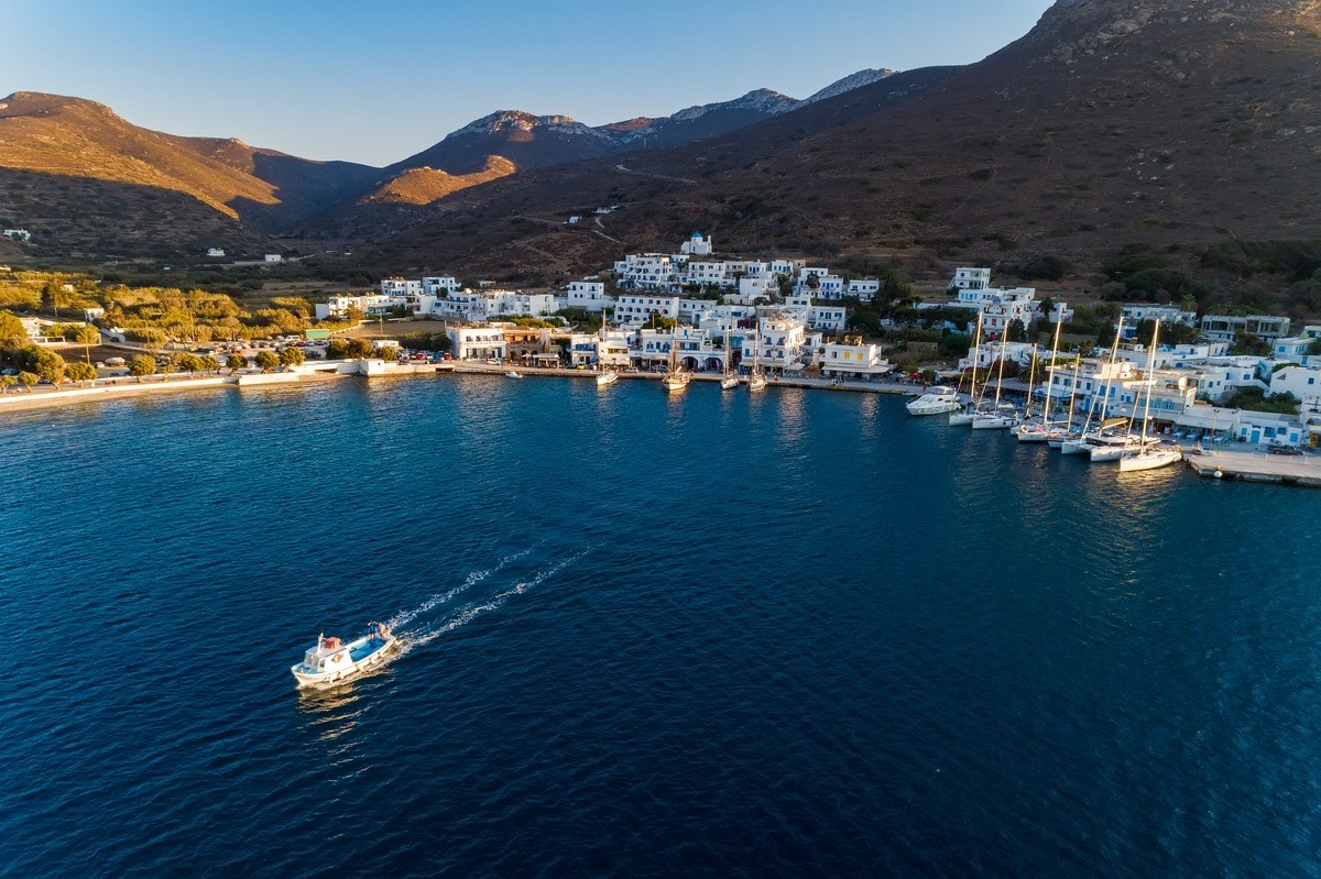 Amorgos Private Jet and Air Charter Flights