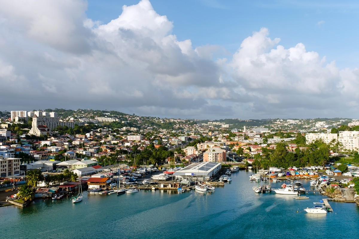 Martinique Private Jet and Air Charter Flights