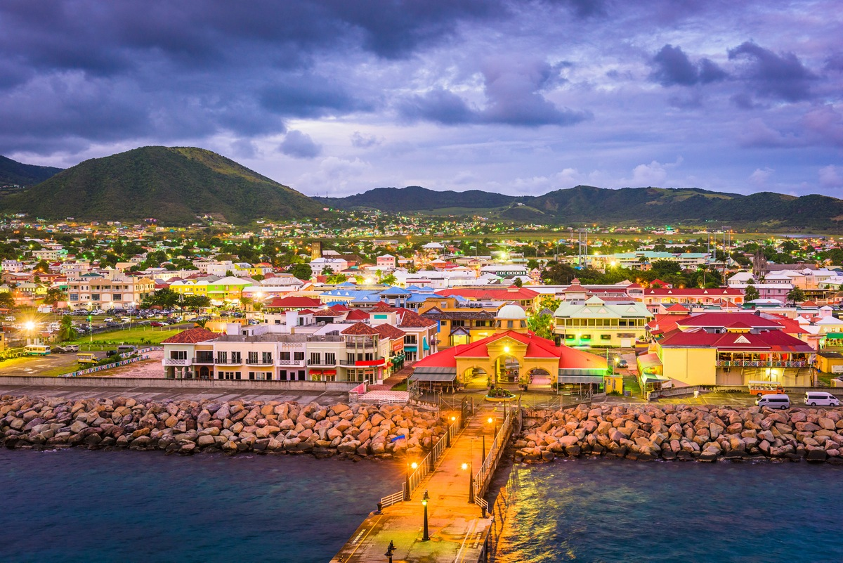 St. Kitts and Nevis Private Jet and Air Charter Flights