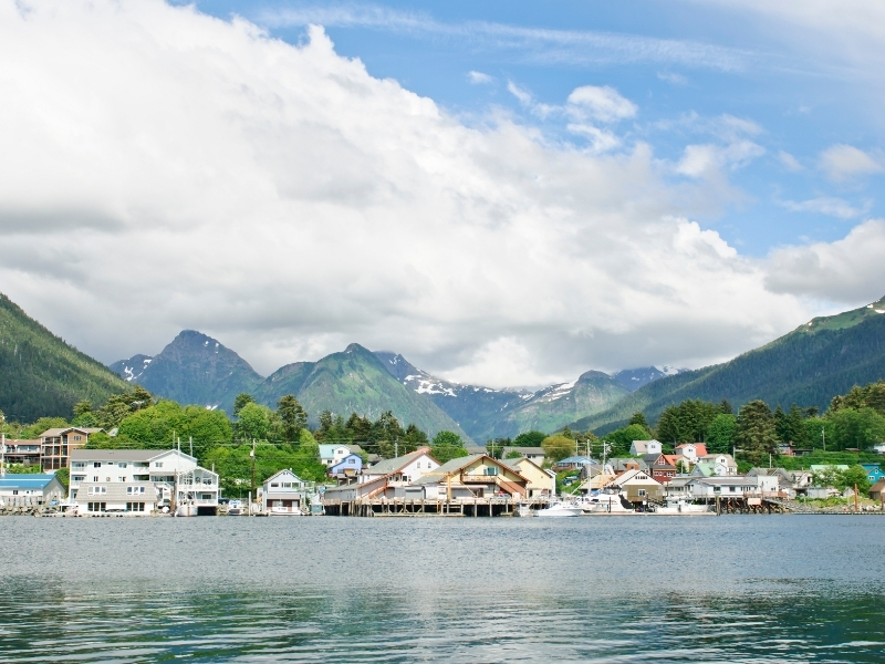Sitka Private Jet and Air Charter Flights