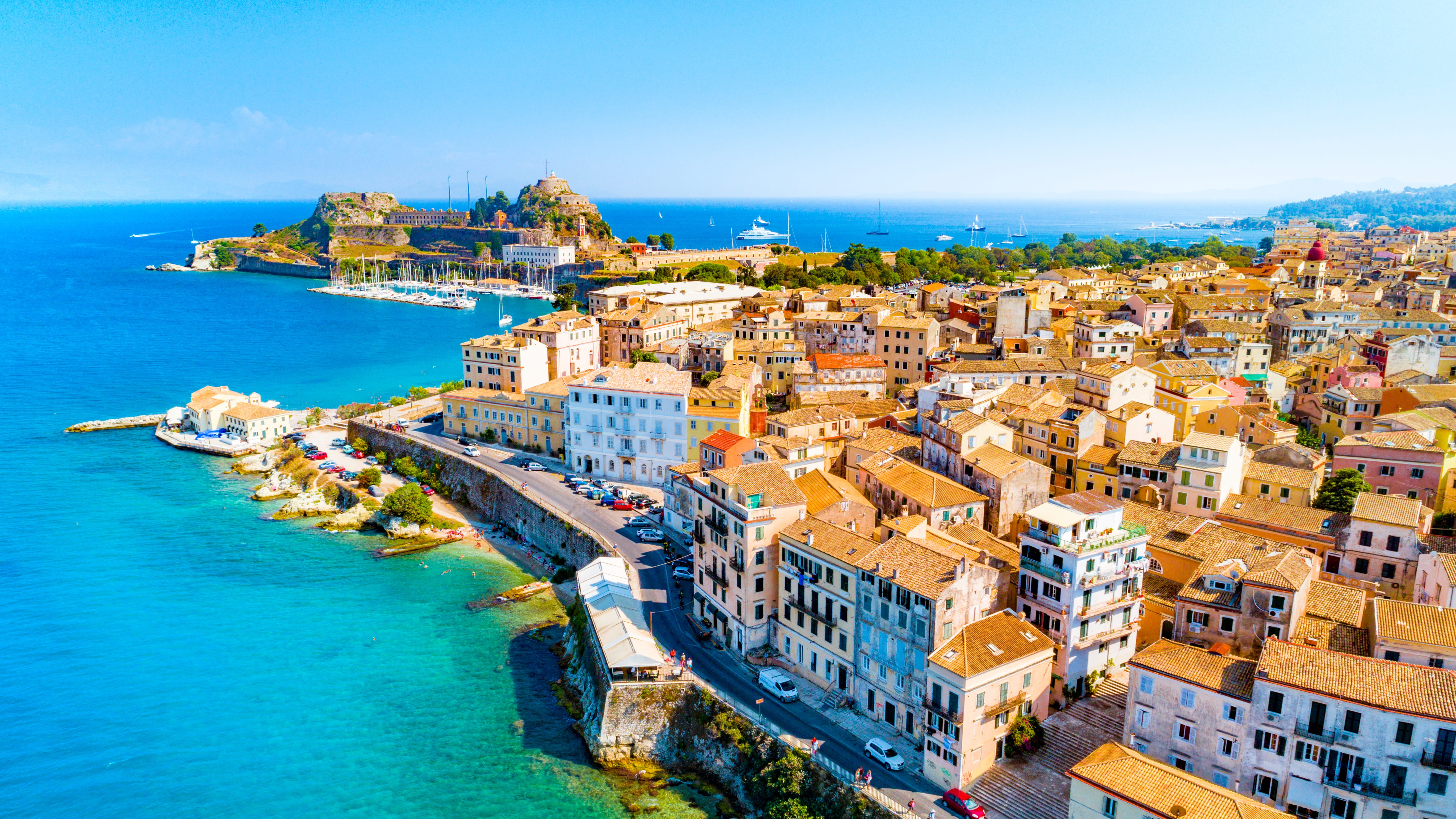 Corfu Private Jet and Air Charter Flights