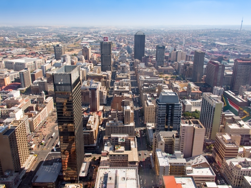 Johannesburg Private Jet and Air Charter Flights
