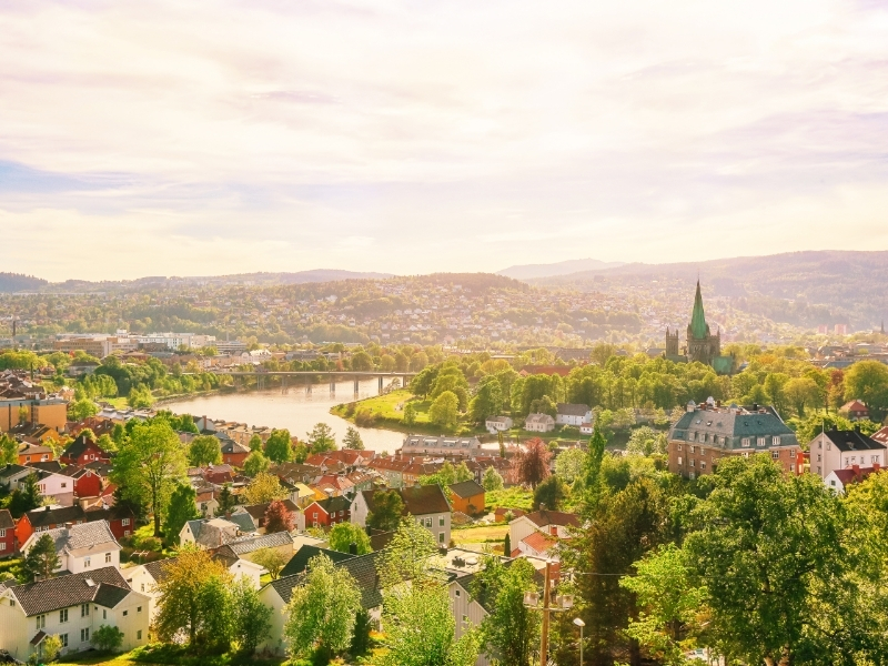 Trondheim Private Jet and Air Charter Flights