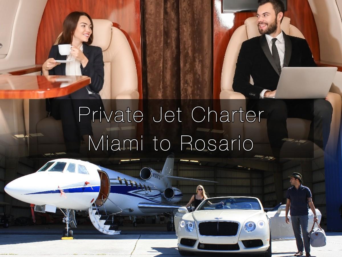 Private Jet Charter Miami to Rosario