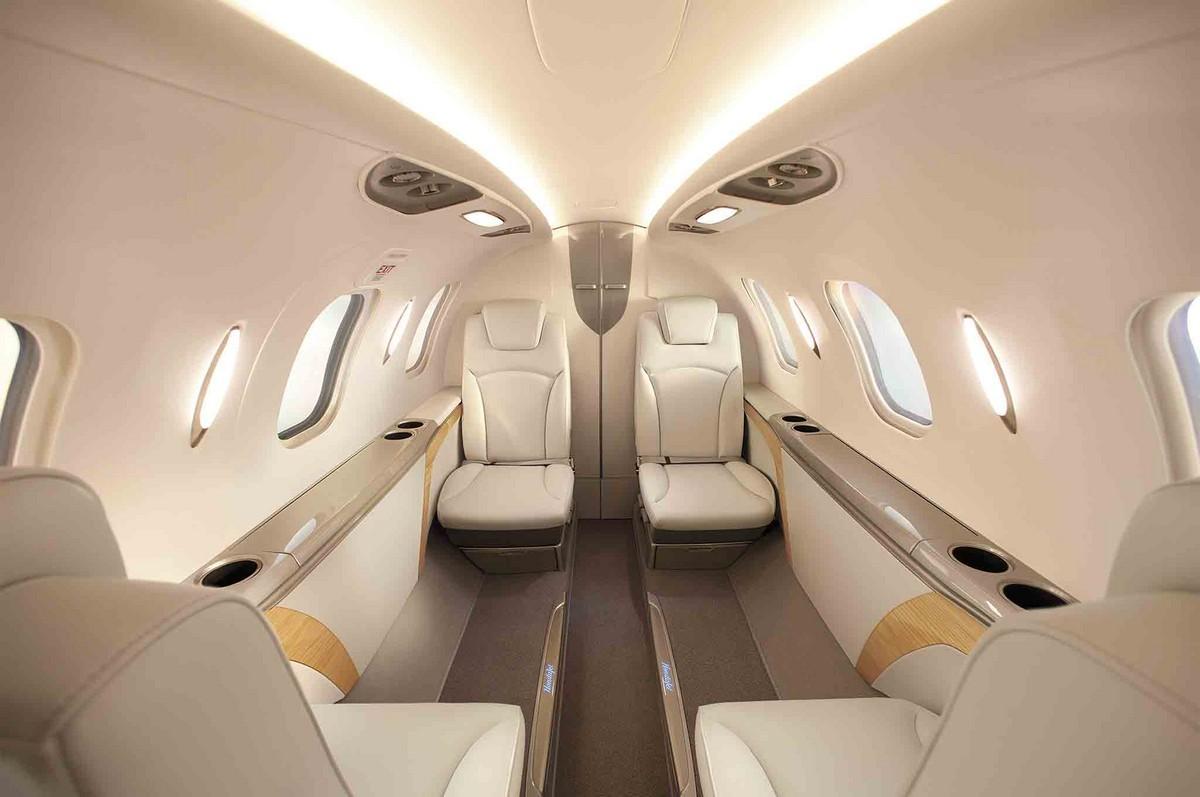 Honda Jet Charter - Private Jet Aircraft interior