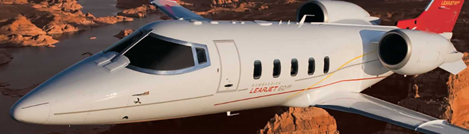 Lear 60XR Charter - Private Jet Aircraft