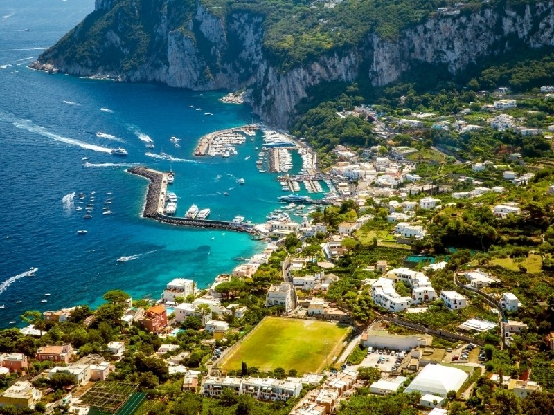 Capri Private Jet and Air Charter Flights
