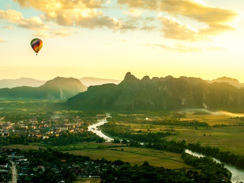 Laos Private Jet and Air Charter Flights